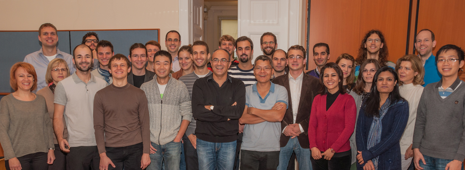 Group photo of the people @ DSG